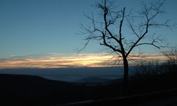 Monte Sano at Sunset